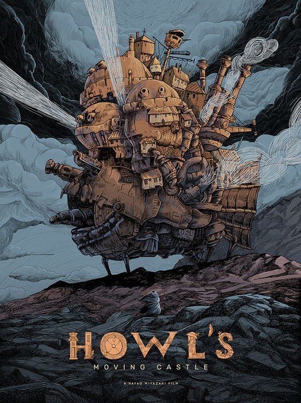 poster Howls moving castle