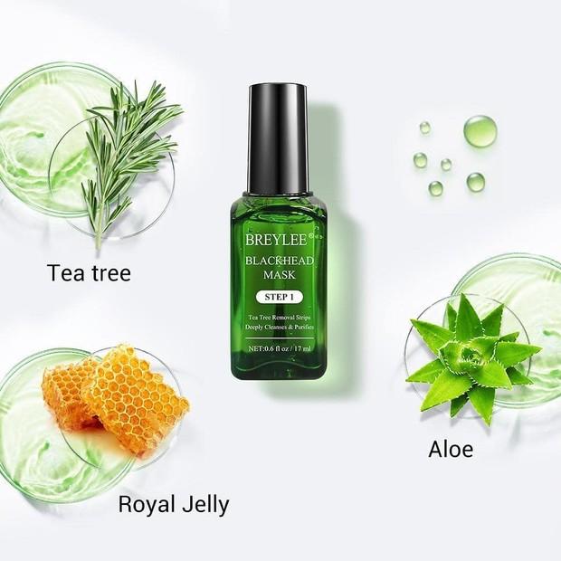 kandungan utama di dalam breylee headmask adalah tea tree oil