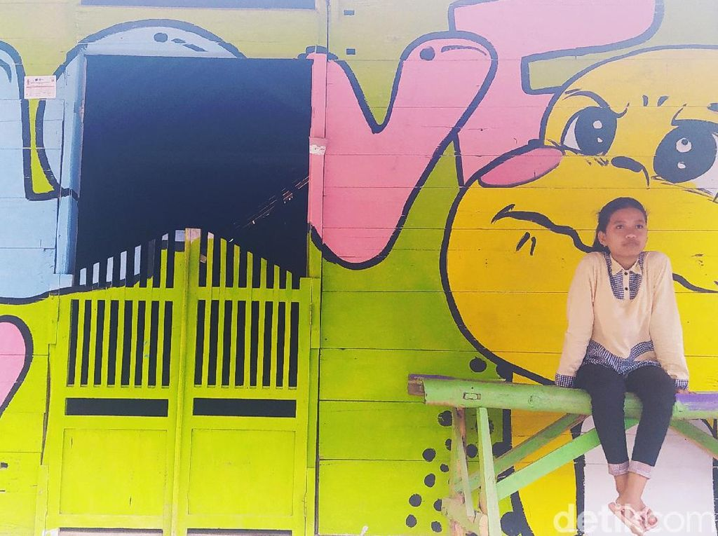 Kampung Gersang, Kampung Pelangi Blora Bromzet Rp 70 Juta Per Bulan