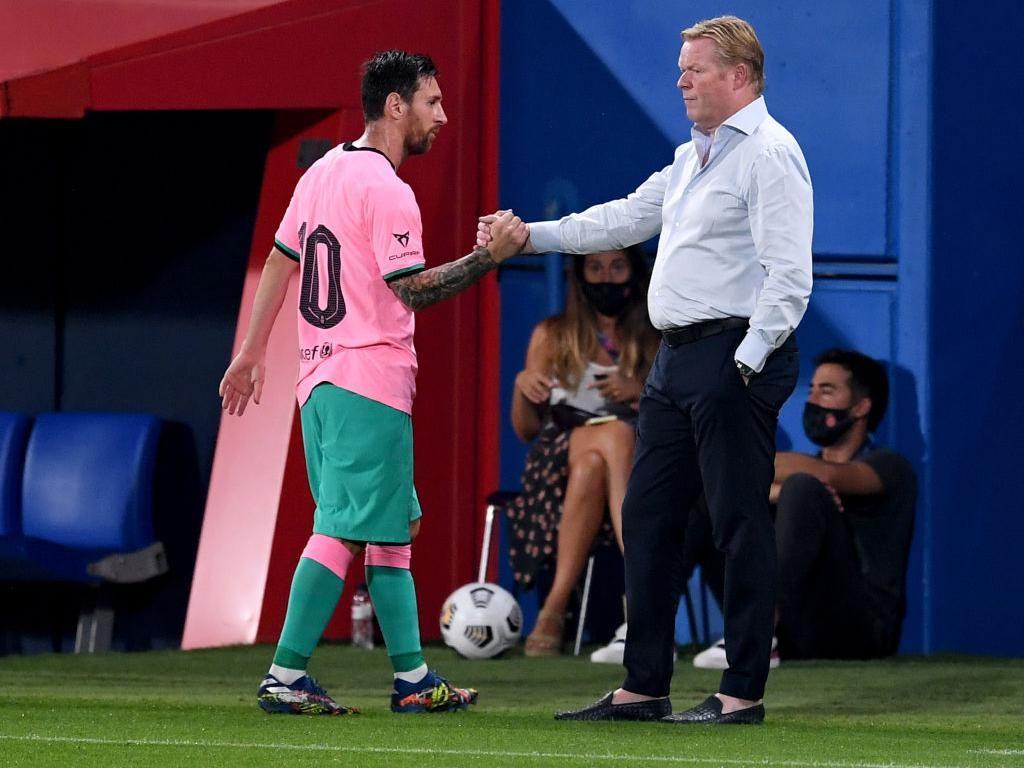 Koeman: Messi Belum Capai Performa Terbaik di Musim Ini