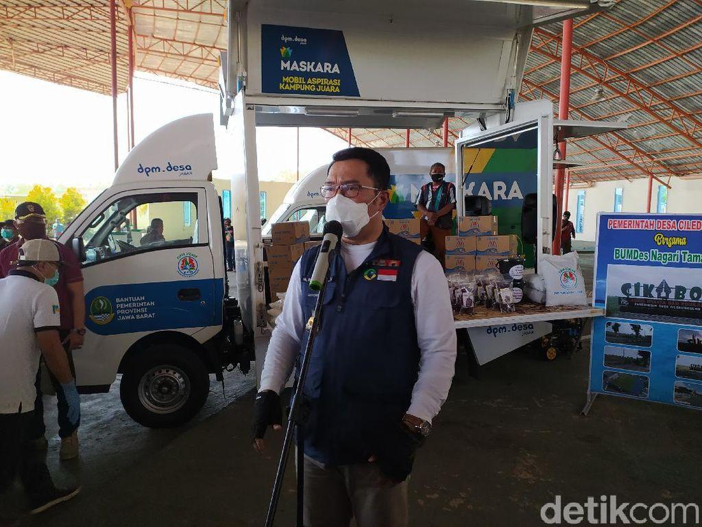 Ridwan Kamil Tetapkan 5 Daerah di Jabar Zona Merah