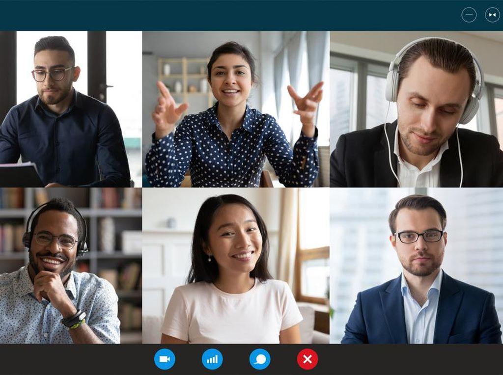 Tips agar Meeting Online di Rumah Tetap Produktif