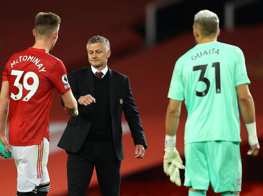 Video Manchester United Takluk dari Crystal Palace 1-3