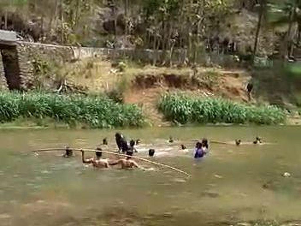Seorang Mahasiswa UGM Tewas Tenggelam di Sungai Oya Bantul