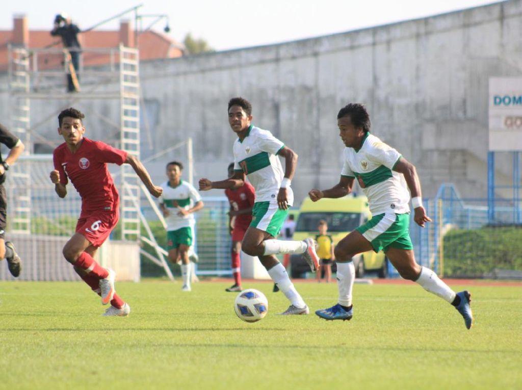 Timnas Indonesia U-19 Vs Qatar: Garuda Muda Tertahan 1-1