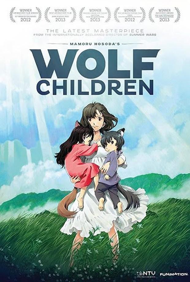 poster Wolf Children