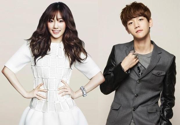 Untuk mengalihkan kepergian Kris dari EXO, agensi mengarang hubungan Baekhyun dan Taeyeon.