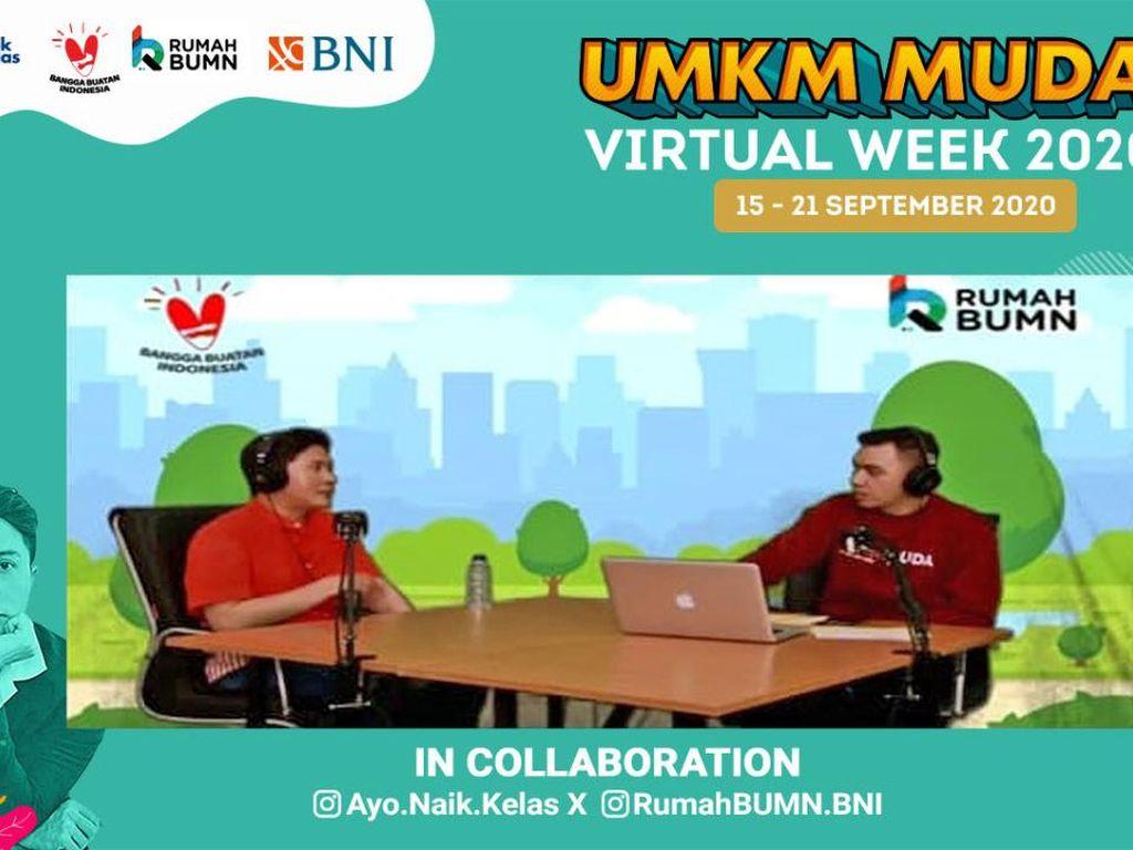 Perkenalkan Rumah BUMN ke Milenial, BNI Gelar UMKM Muda Virtual Week