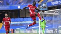 Video Liverpool Gasak Chelsea, Sadio Mane 2 Gol