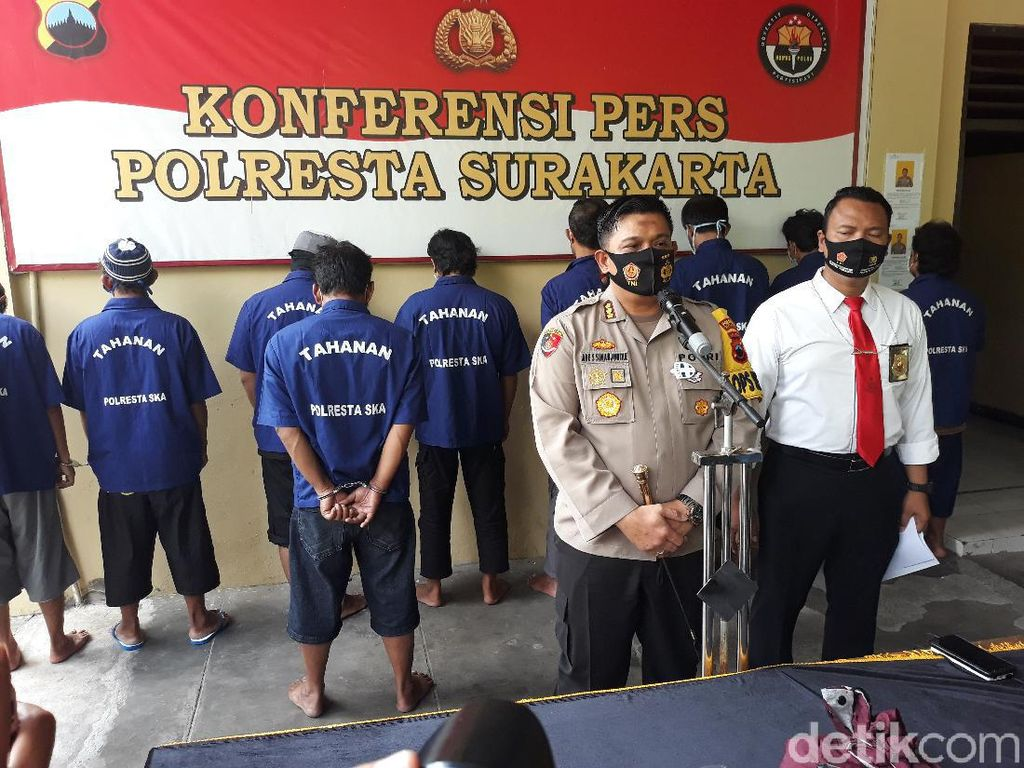 2 Tersangka Baru Penyerangan Doa Nikah di Solo Ditangkap, 5 Buron