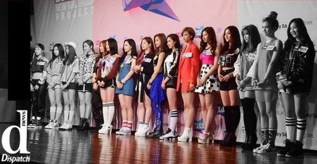 Lineup debut anggota Twice sebenarnya sudah diputuskan karena yang debut berada di tengah konfrensi pers.
