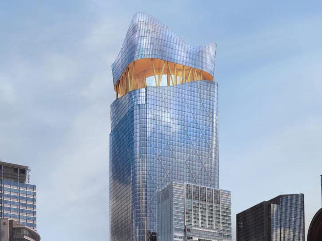 Menara Ini Akan Jadi Gedung Tertinggi di Jepang, Dibuka Tahun 2027