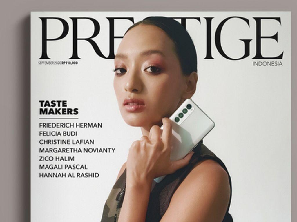 OPPO Reno4 Pro Dipakai buat Foto Sampul Majalah Prestige, Hasilnya?