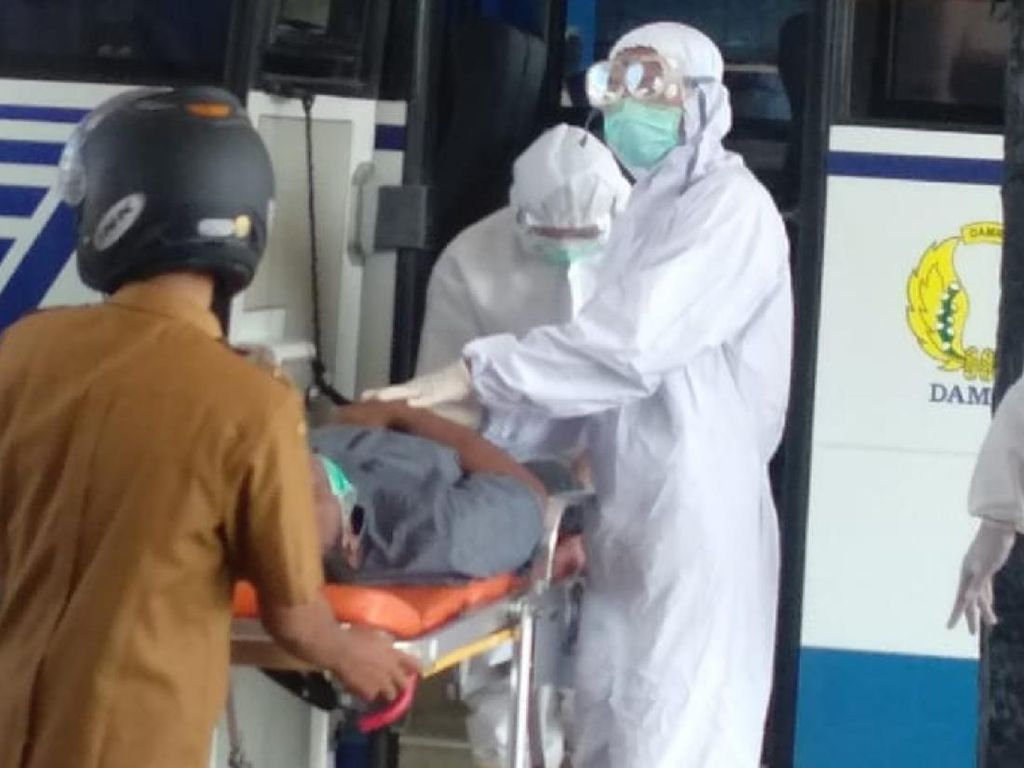 Pria Bermasker Meninggal di Sukabumi, Satgas COVID-19 Turun Tangan