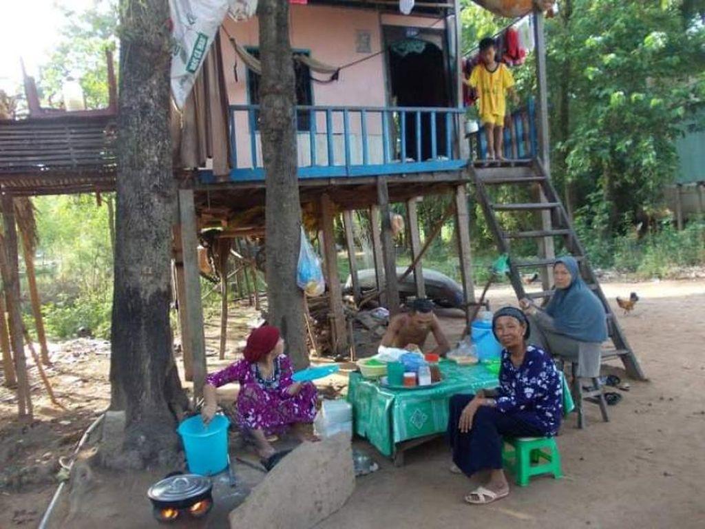 Potret Kampung Muslim di Perbatasan Vietnam dan Kamboja