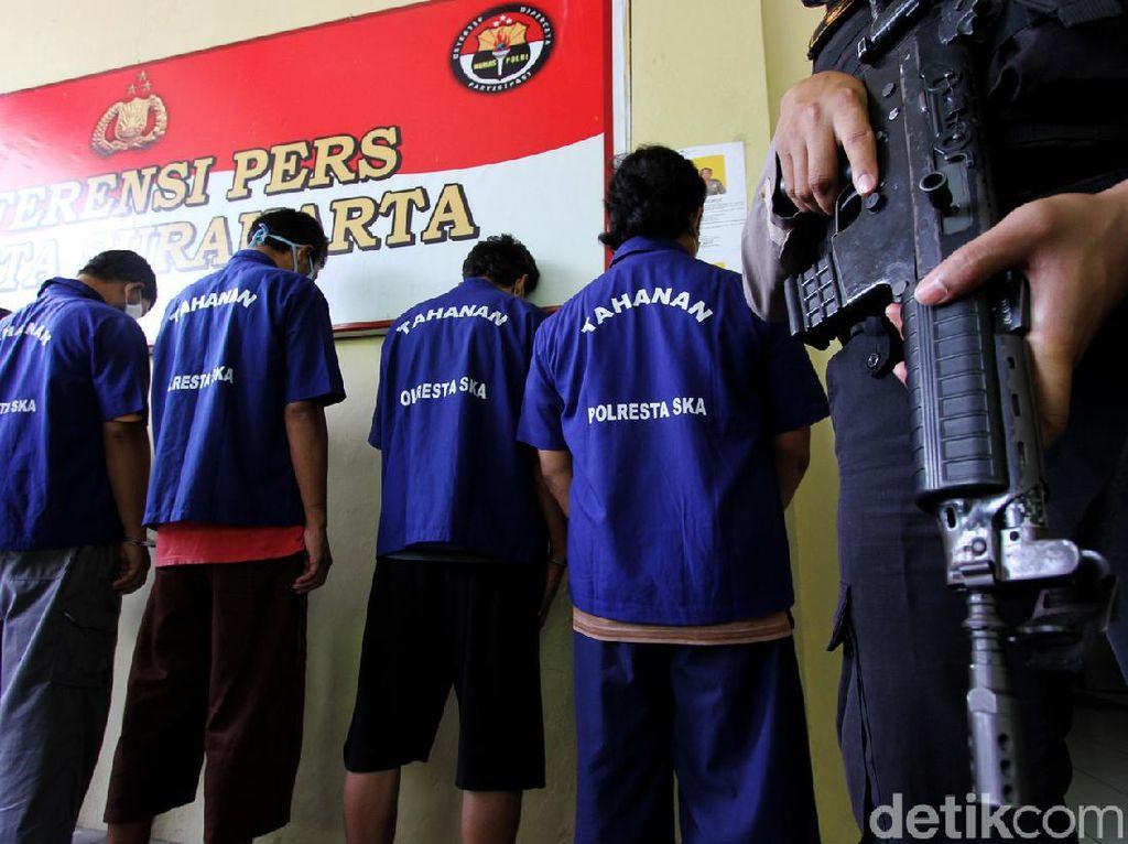 Ini Dia Pelaku Penyerangan Doa Nikah di Solo yang Dibekuk Polisi