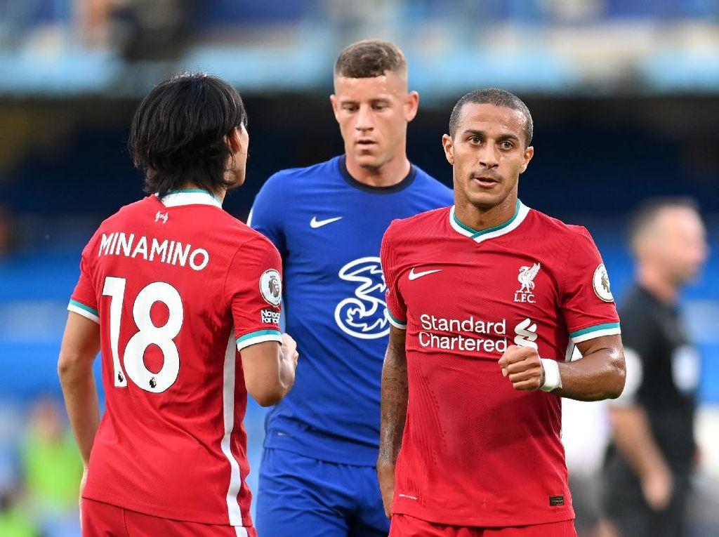 Kehadiran Thiago Ganggu Keseimbangan Skuat Liverpool?