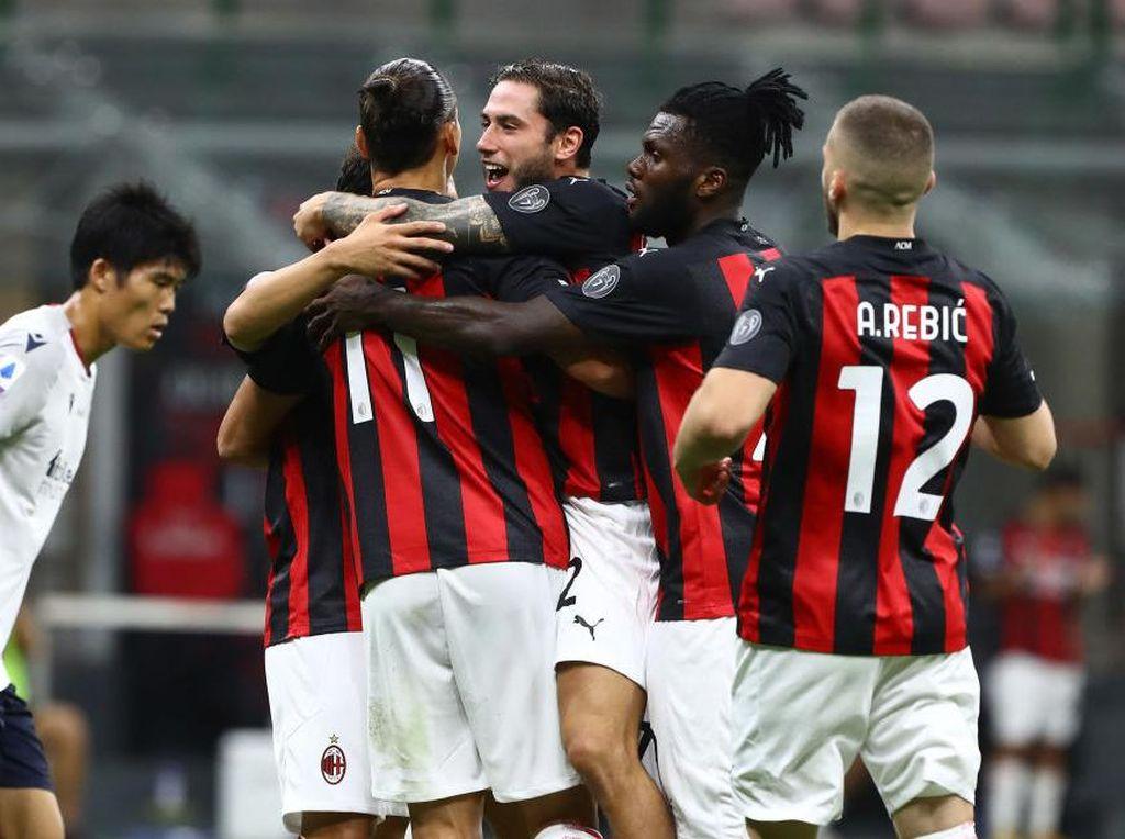 9 Data-Fakta Milan Vs Bologna