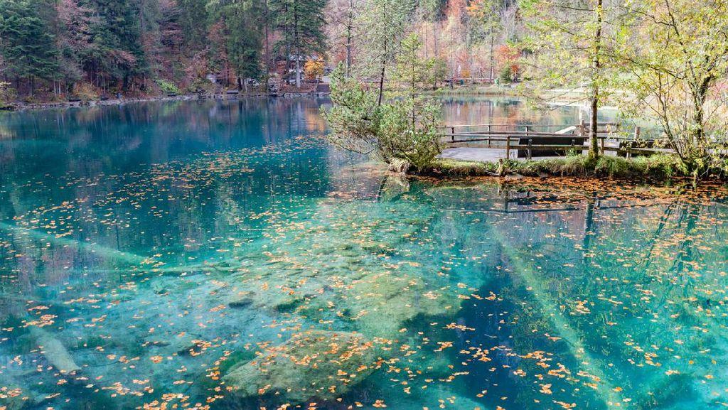 Danau Blausee yang Mirip Negeri Dongeng