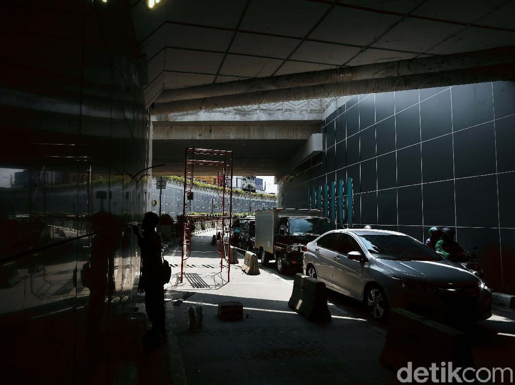Hampir Kelar, Begini Progres Terkini Proyek Underpass Senen Extension