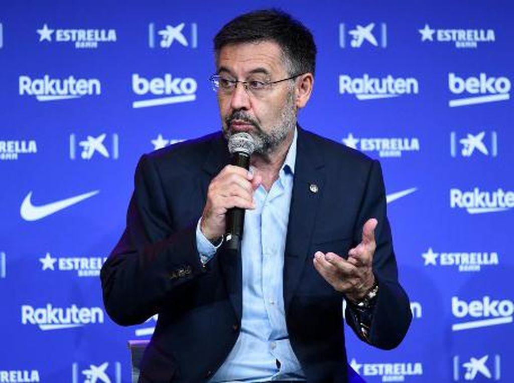 Josep Maria Bartomeu Akan Disidang Terkait Skandal Barcagate Barcelona