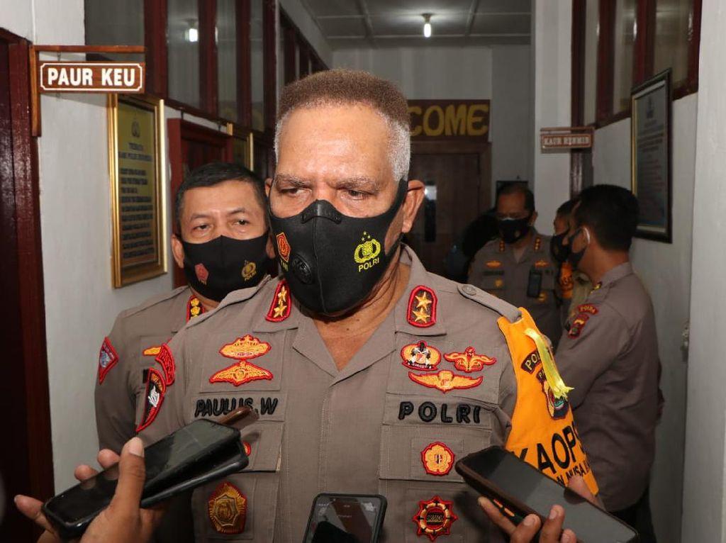 Jual-Beli Senapan Serbu, Oknum Anggota Brimob 7 Kali Pasok Senjata ke Papua