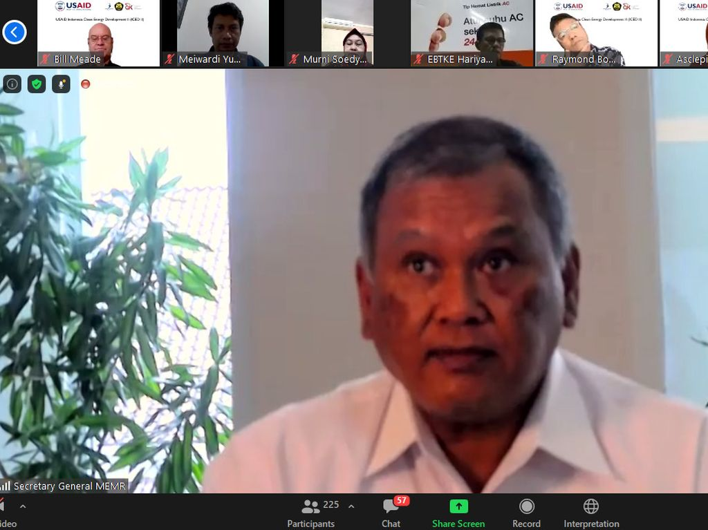 ESDM-USAID Peringati 5 Tahun Kemitraan Energi Bersih ICED II