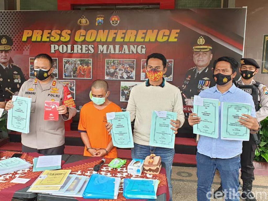 Korupsi Dana Desa Rp 600 Juta, Mantan Kades Slamparejo di Malang Ditahan