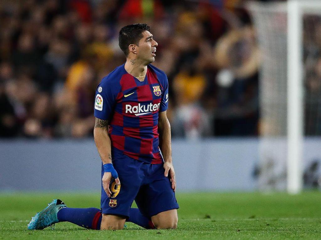 Bisakah Luis Suarez Ikuti Jejak David Villa di Atletico?