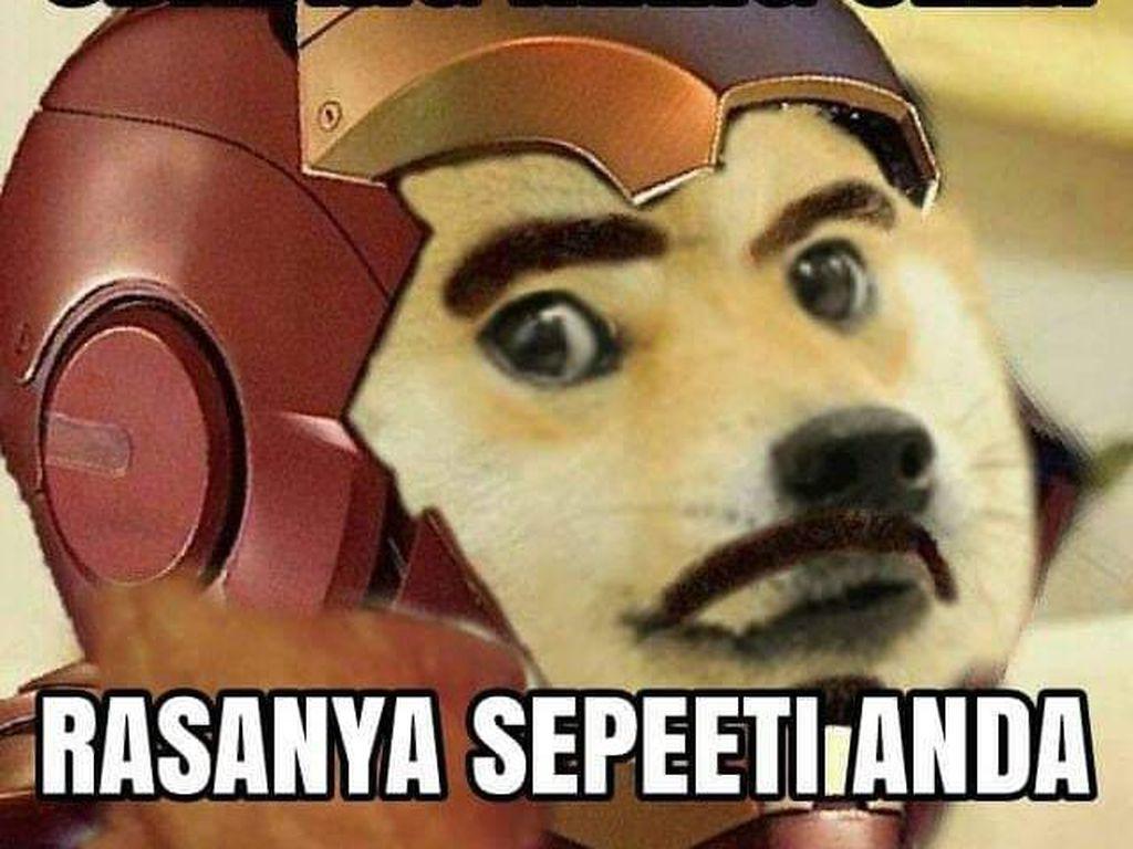 Meme Odading Mang Oleh Bikin Ngakak, Bisa Jadi Iron Man