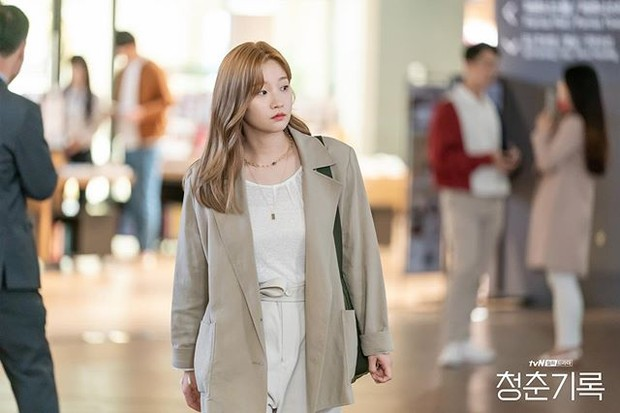 Park So Dam di drama Korea Record of Youth