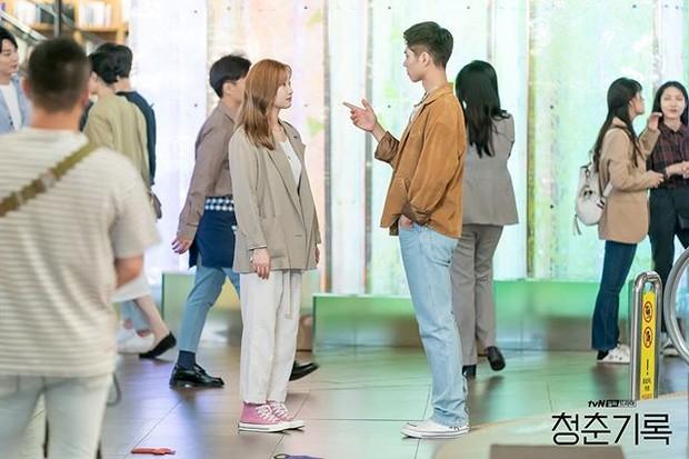 Park So Dam dan Park Bo Gum di drama Korea Record of Youth