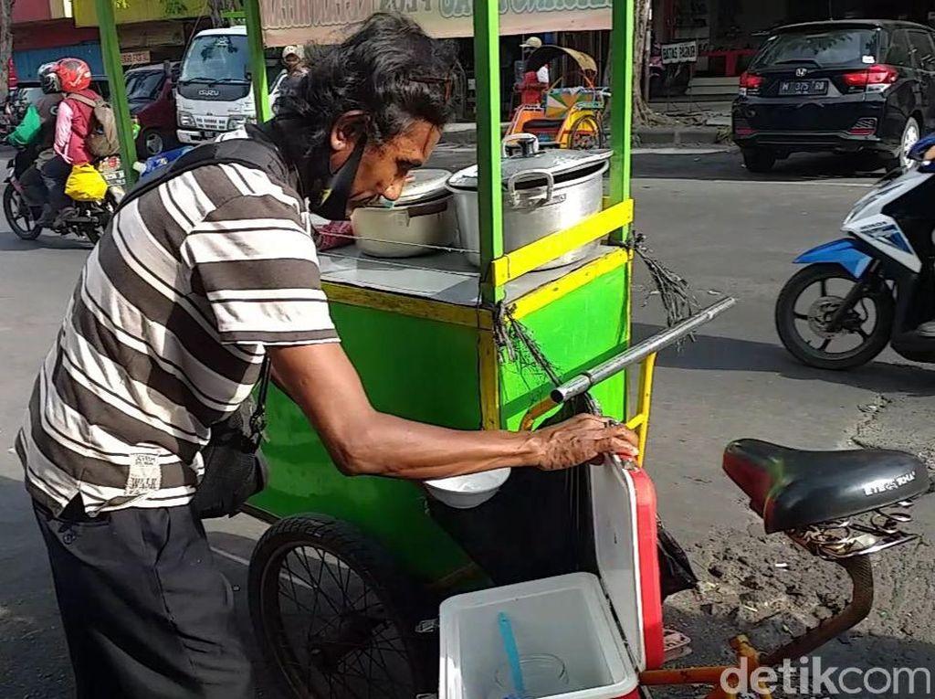 Bahasa Jepang Dipakai Penjual Bubur di Surabaya Saat Marahin Anak