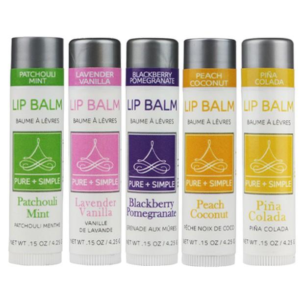 Koleksi Duet Lip Balm dari Pure + Simple ini memiliki berbagai kandungan yang akan melembabkan bibir kamu.