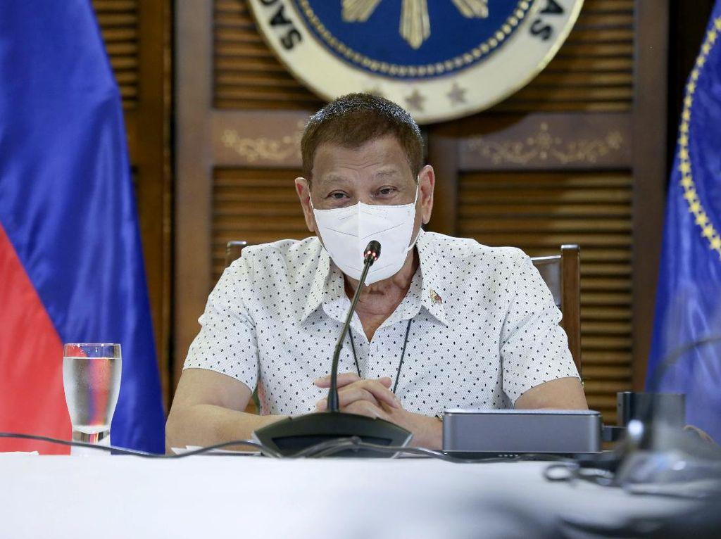 Duterte Tak Akan Vaksinasi Corona di Depan Publik, Ini Alasannya
