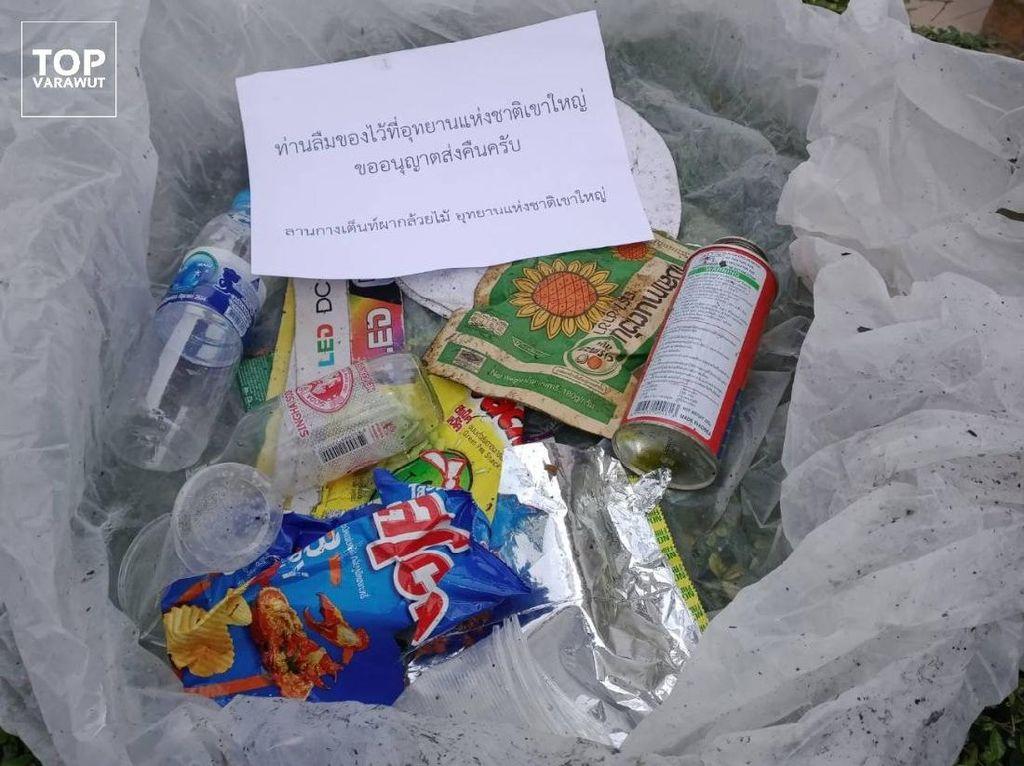Nah Lho, Taman Ini Kirim Sampah Kembali ke Pembuangnya