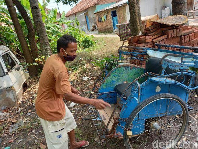 Terpopuler Sepekan Jateng: Tukang Becak Kena Corona Nekat Cari Penumpang