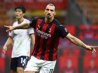 Milan Vs Bologna: Dwigol Ibrahimovic Bawa Rossoneri Menang 2-0