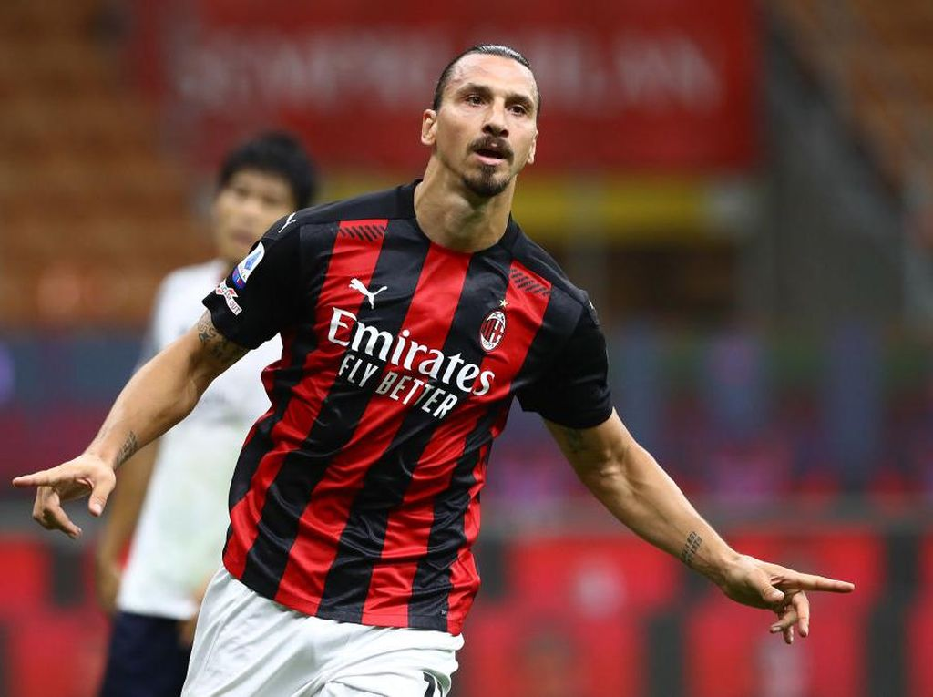 Ibrahimovic dan Donnarumma Jadi Kunci Kemenangan Milan Atas Bologna