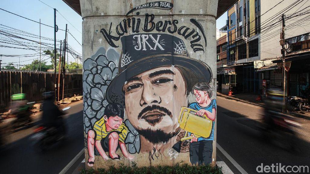 Mural Dukungan untuk Jerinx SID Mejeng di Ibu Kota