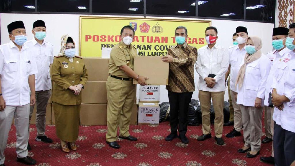 Bantuan Alat Tes PCR dan Ventilator untuk Tangani Corona di Lampung