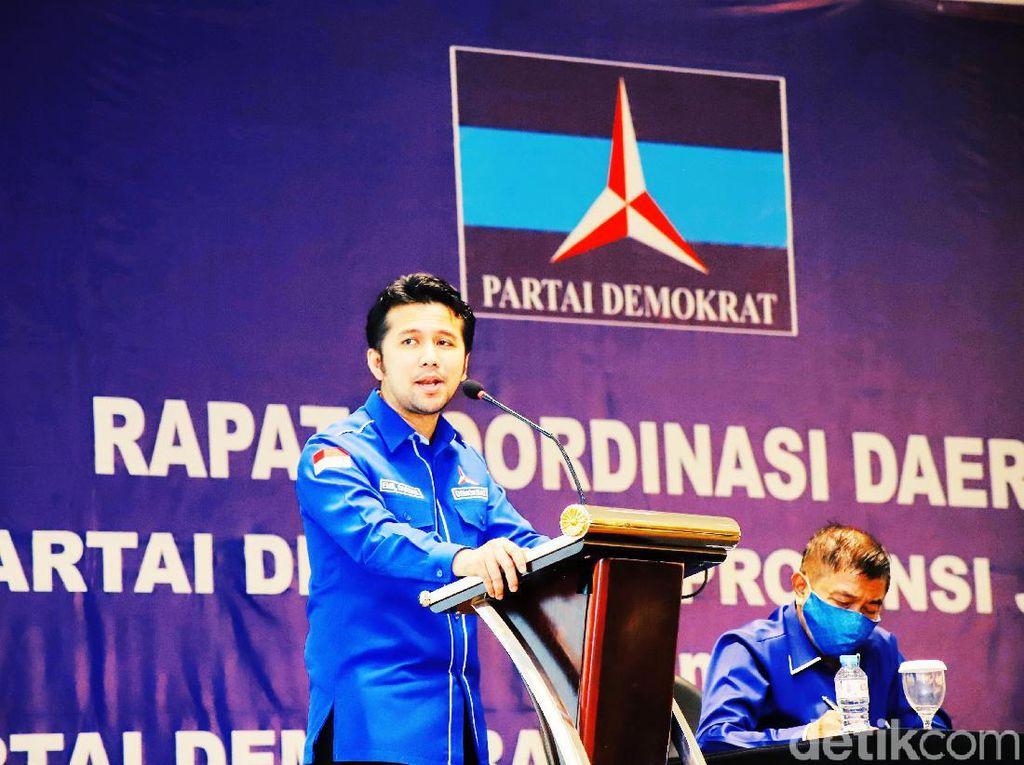 Emil Dardak Ditunjuk Jadi Plt Ketua DPD Partai Demokrat Jatim