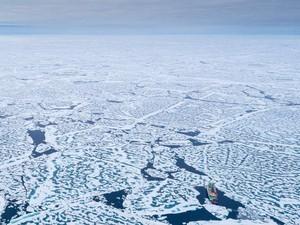 Es di Permukaan Laut Arktik Berkurang Hingga Mendekati Rekor Terendah