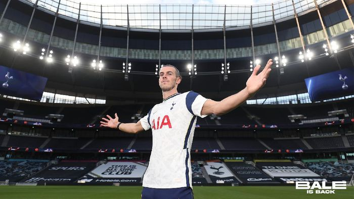 Gareth Bale bergabung ke Tottenham Hotspur dari Real Madrid selama satu musim pinjaman, Minggu (20/9/2020).