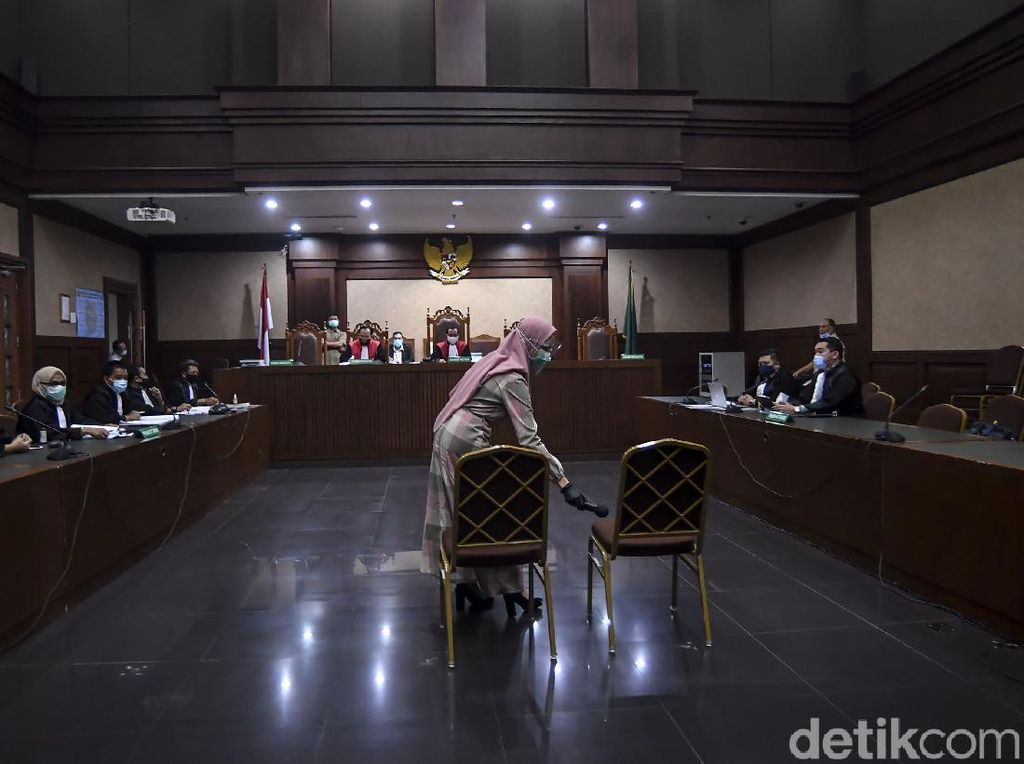 Bacakan Eksepsi, Pihak Pinangki Jelaskan soal Nama Jaksa Agung di Dakwaan