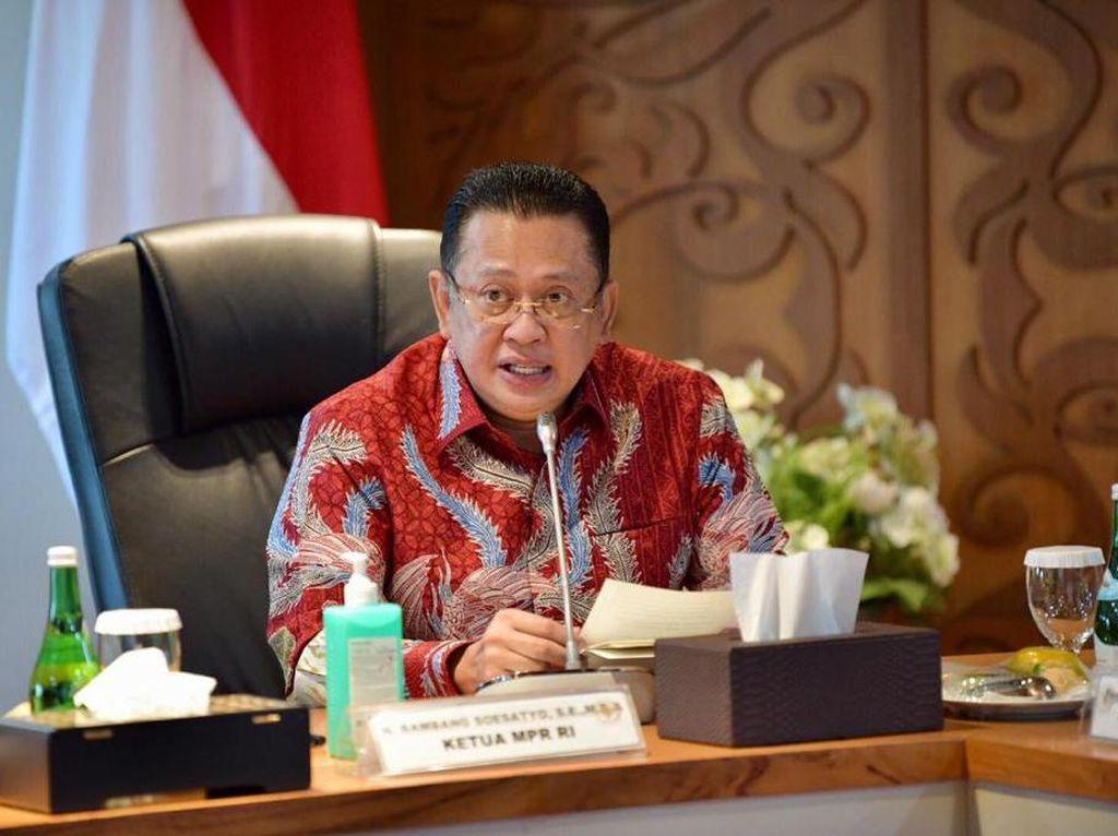 Ketua MPR Dukung Komjen Listyo Sigit Prabowo Calon Tunggal Kapolri