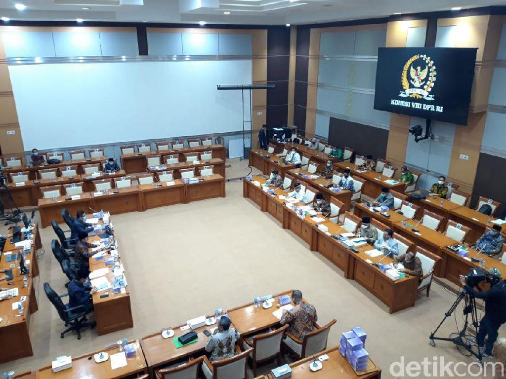Usai Swab Seluruh Anggota, Komisi VIII DPR: Alhamdulillah Negatif Semua