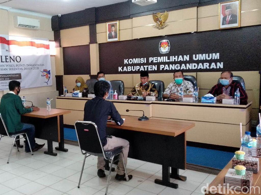 KPU Tetapkan Dua Pasangan Calon Peserta Pilbup Pangandaran