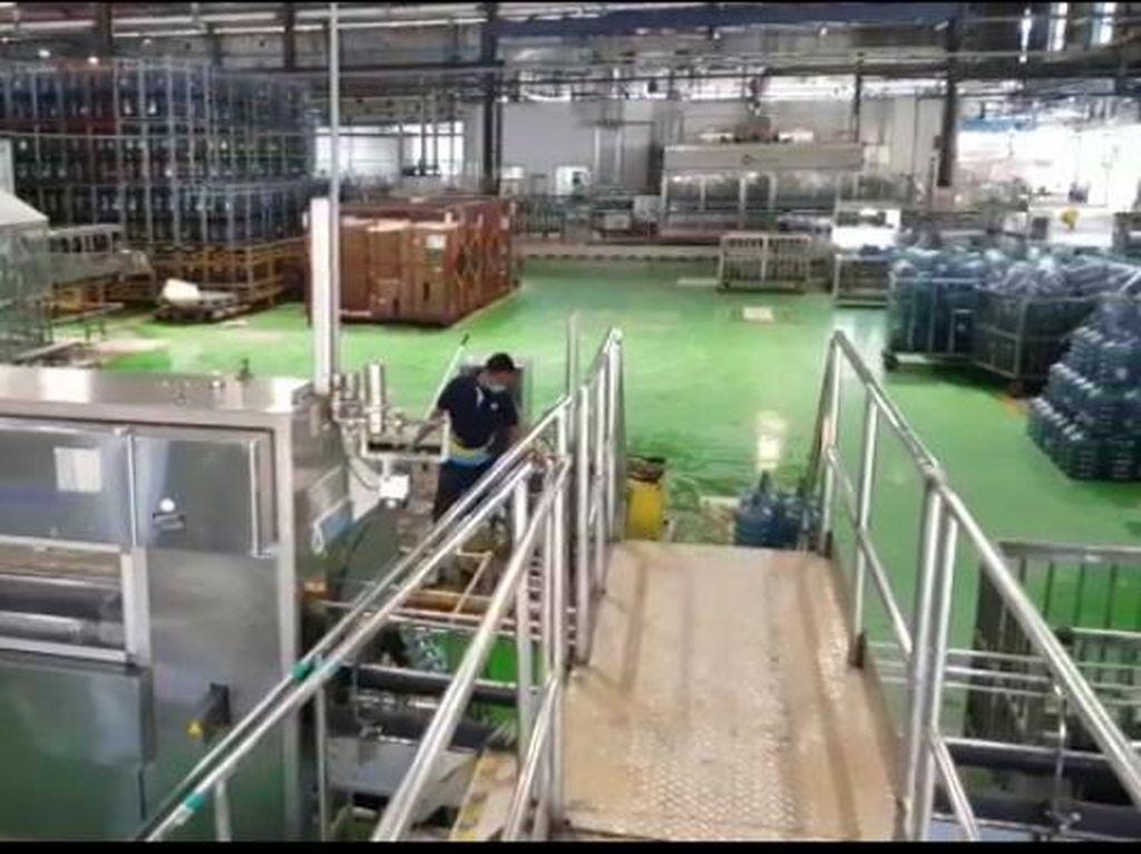 Penampakan Terkini Pabrik Aqua di Sukabumi yang Sempat Kebanjiran