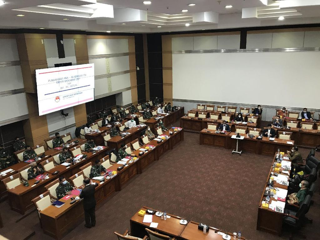 Panglima TNI-Wamenhan Rapat Bareng Komisi I, Prabowo Dijadwalkan Menyusul